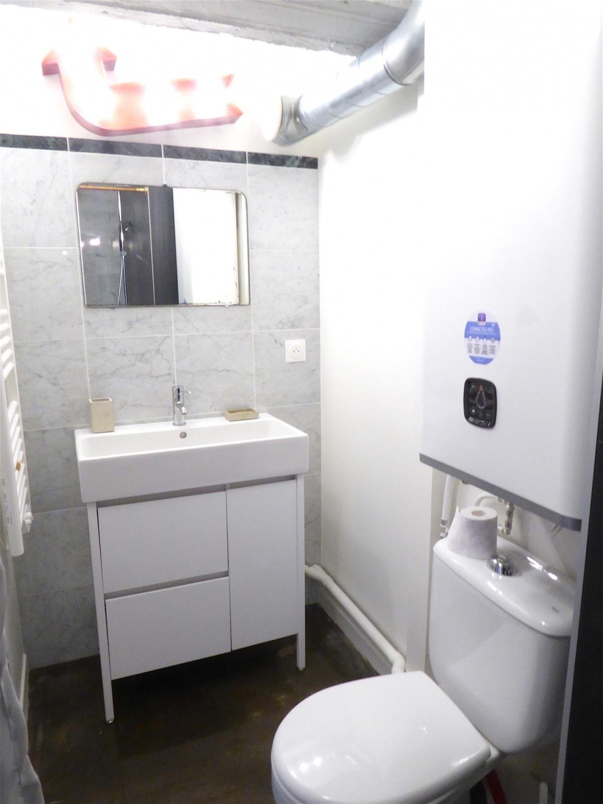 les bureaux 2011 : Salle d'eau du penthouse