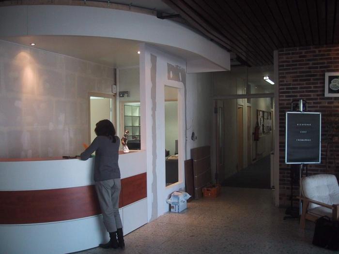 Hall d'accueil de FROMARSAC (groupe BONGRAIN) : image_projet_mini_13870