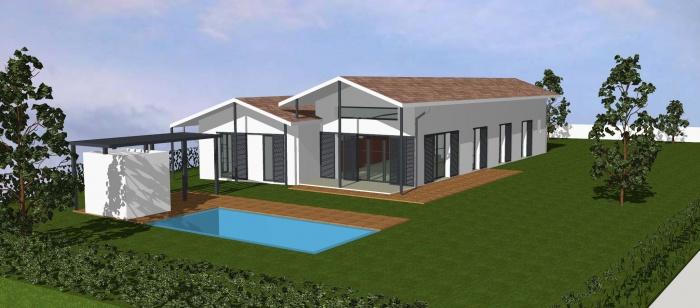 Maison individuelle BBC - ST ANDRE DE CUBZAC : projet
