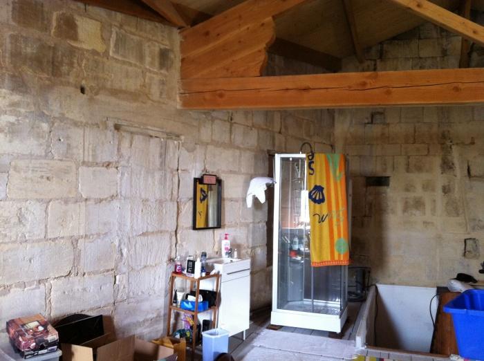 Aménagement de chambres d'hotes et cave a vins - SAINT EMILION : ETAT DES LIEUX