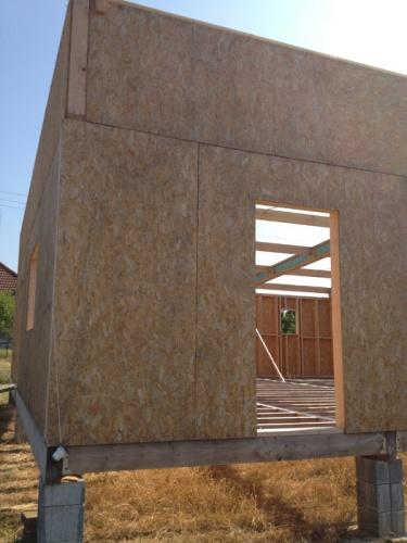 Maison à ossature bois : exte