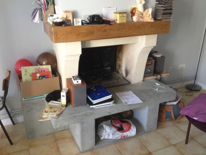 Rénovation intérieure : cheminee