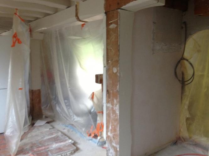 Rénovation partielle d'une maison : travaux