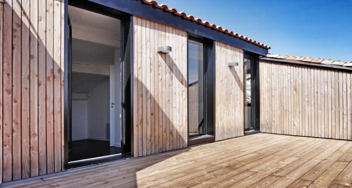 Rénovation et surélévation d'un triplex