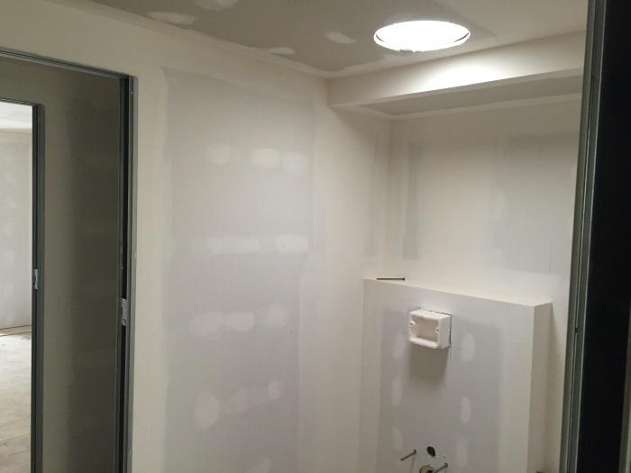 Rénovation d'un cabinet de kinésithérapie : wc