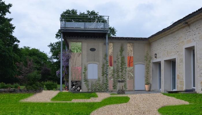 rénovation habitation et locaux professionnels : terrasse suspendue garage