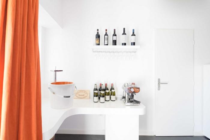 rénovation habitation et locaux professionnels : espace dégustation