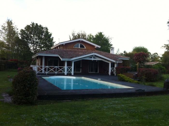 extension et rénovation habitation : 10 photo Existant depuis  piscine