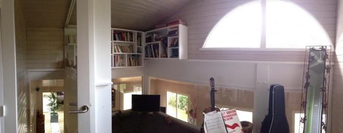 extension et rénovation habitation : 14 mezzanine arpès travaux