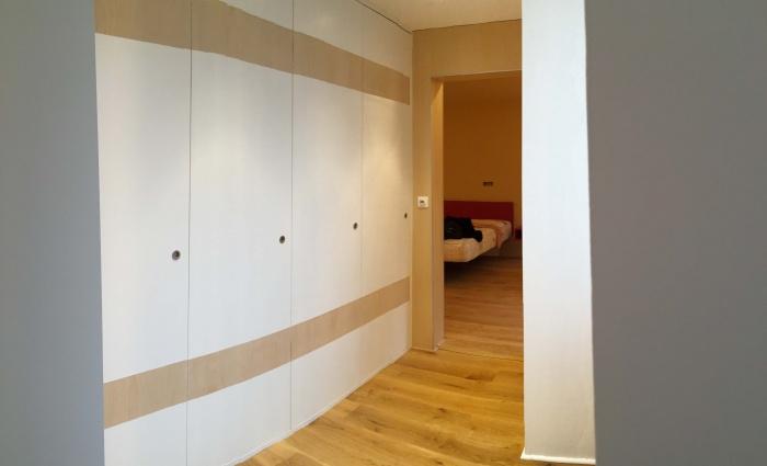 transformation Bureaux en appartement : dressing