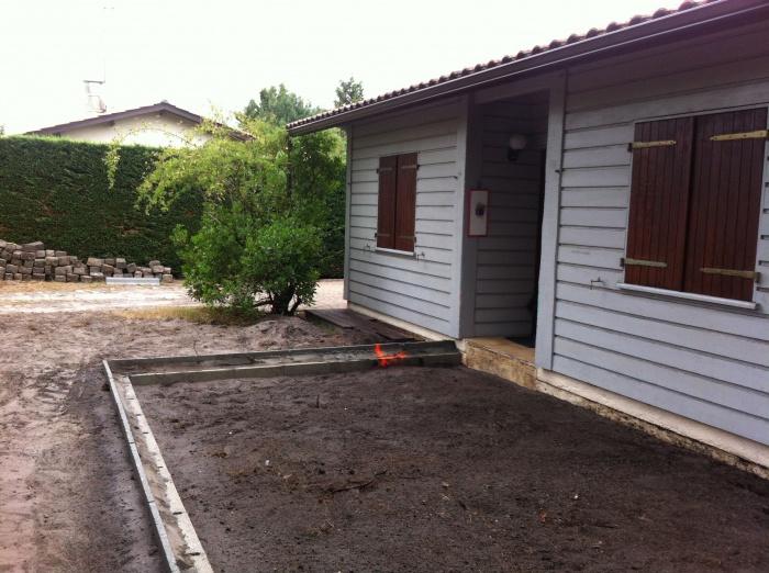 Extension et réaménagement d 'une habitation existante - CESTAS : IMG_4638