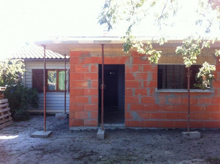 Extension et réaménagement d 'une habitation existante - CESTAS : IMG_5112