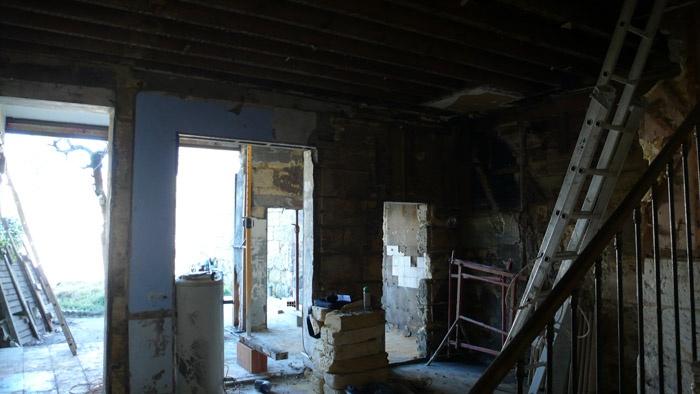 Rénovation aux Chartrons : chantier
