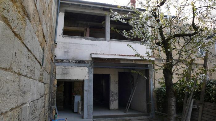 Rénovation aux Chartrons : chantier3