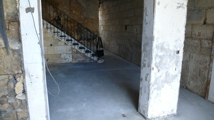 Rénovation aux Chartrons : chantier4