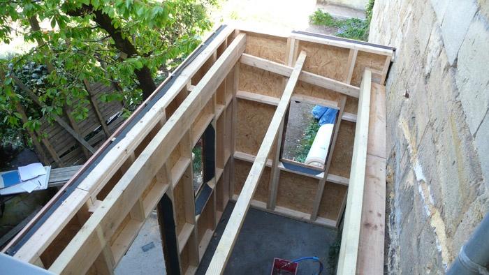 Rénovation aux Chartrons : chantier6