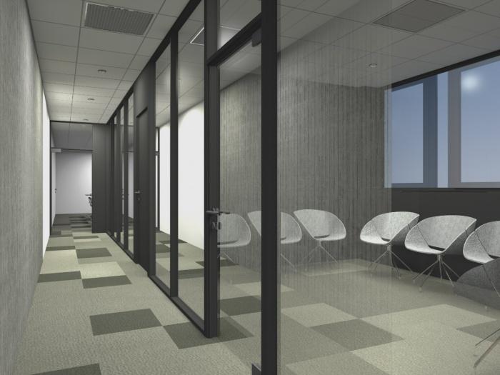 Réaménagement d'un plateau de bureaux seventies à Bordeaux 2017 : v 6