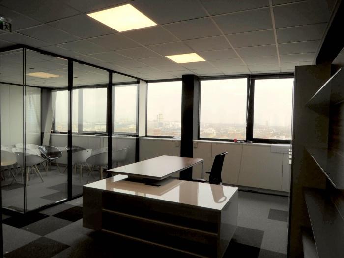 Réaménagement d'un plateau de bureaux seventies à Bordeaux 2017